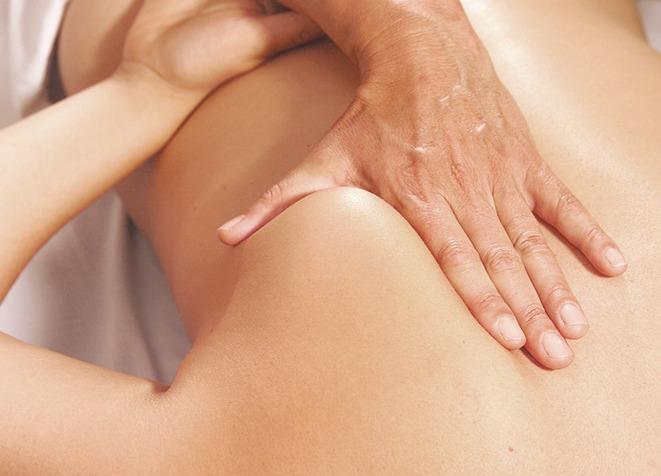 masaje sobre carga muscular