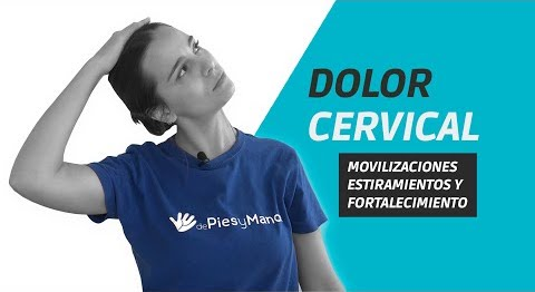 Ejercicios dolor cervical